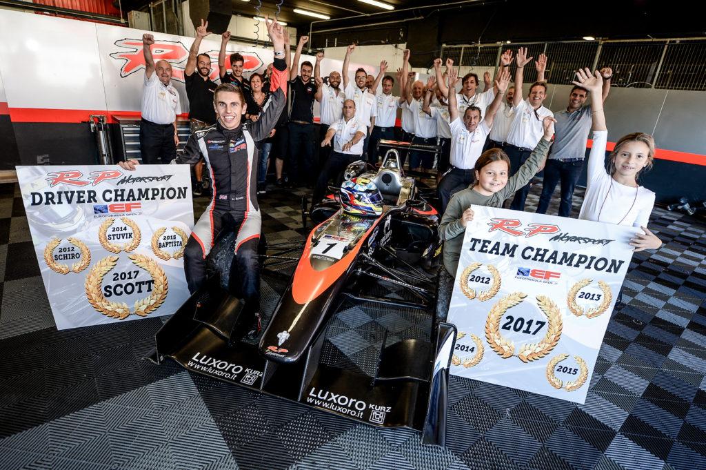 Harrison Scott Celebrates Bumper Year In Motorsport Career